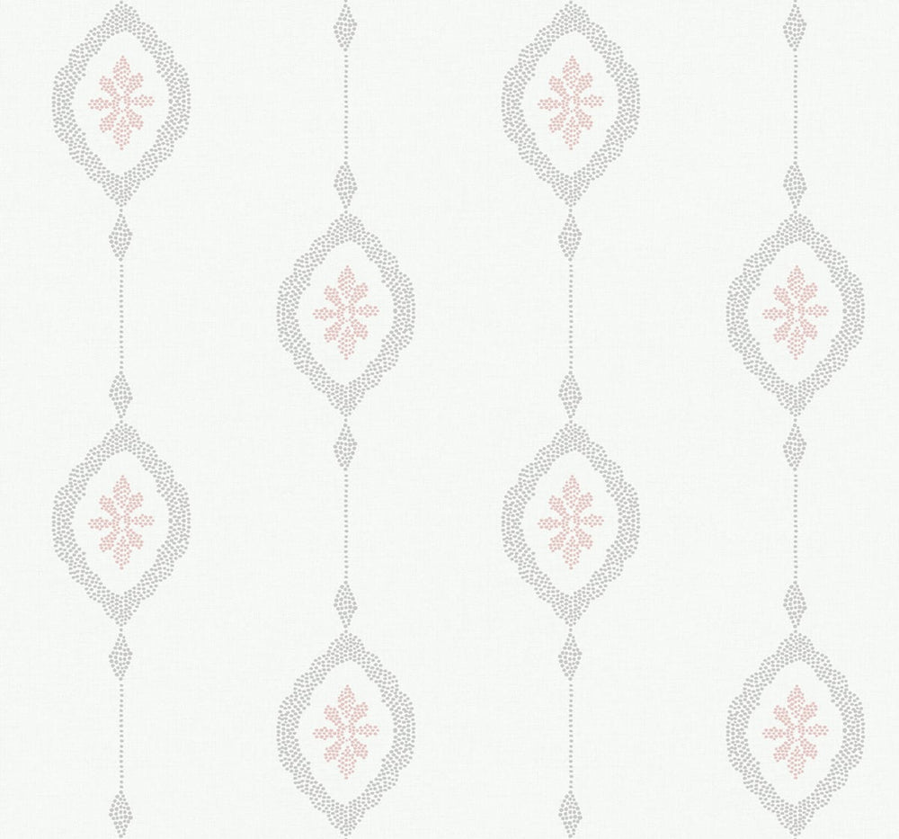 MB30501 sand dollar stripe nautical wallpaper from the Beach House collection by Seabrook Designs