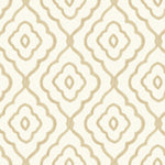 MB30903 beige seaside ogee wallpaper from the Beach House collection by Seabrook Designs