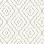 MB30905 gray seaside ogee wallpaper from the Beach House collection by Seabrook Designs