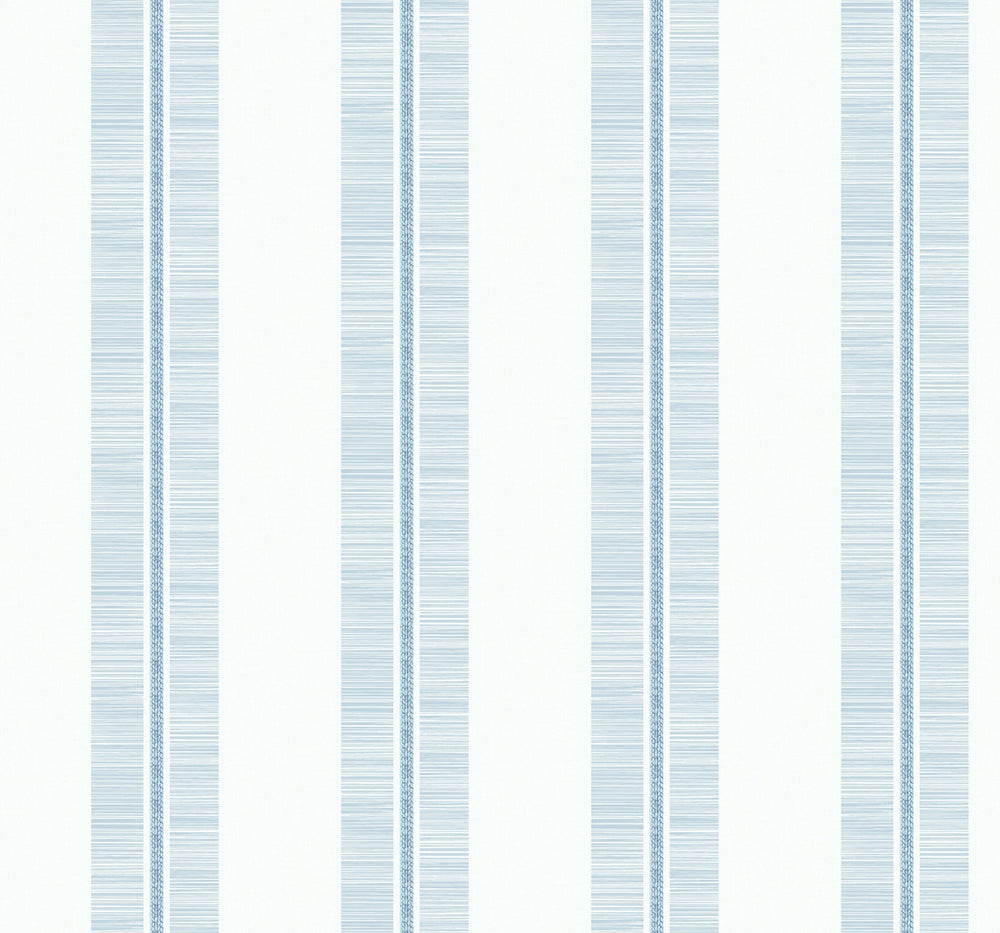 MB31002 blue beach towel striped wallpaper from the Beach House collection by Seabrook Designs