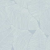 MB31302 blue magnolia leaf coastal wallpaper from the Beach House collection by Seabrook Designs