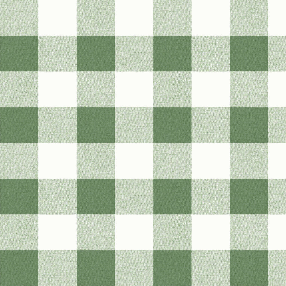 MB31904 green picnic plaid coastal wallpaper from the Beach House collection by Seabrook Designs