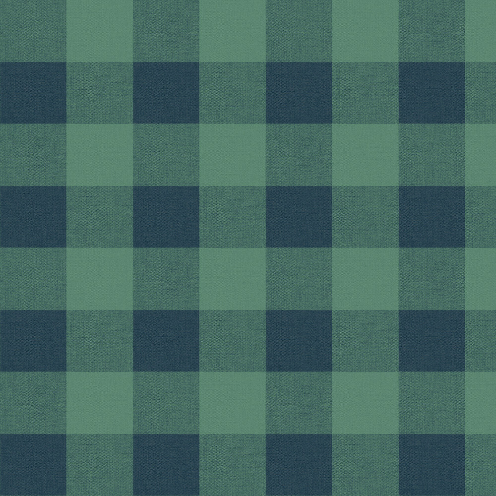 MB31924 green picnic plaid coastal wallpaper from the Beach House collection by Seabrook Designs