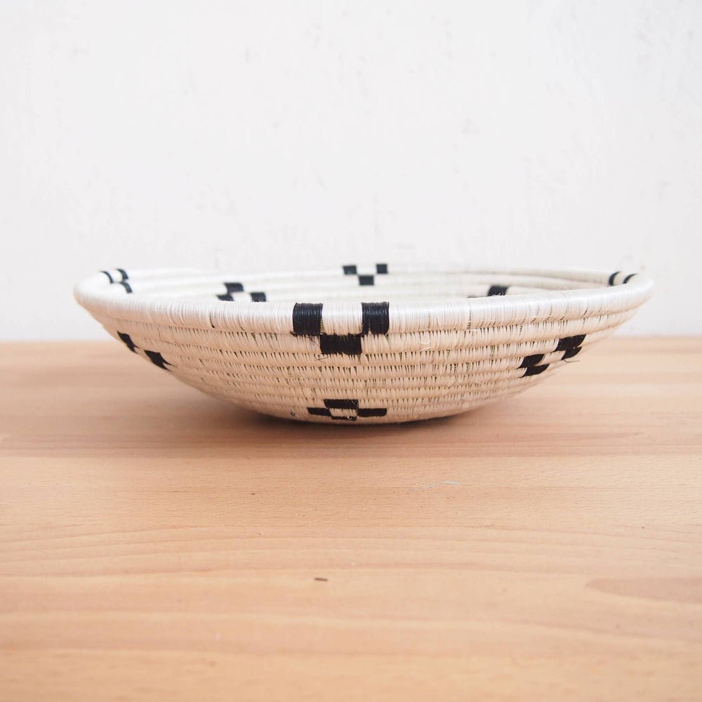 Maraba white large wall bowl profile home decor by Amsha