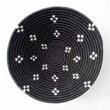 Munazi black large wall bowl home decor by Amsha