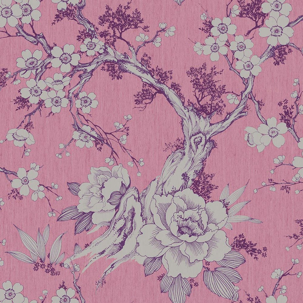 Apara Blossom Trail Floral Wallpaper