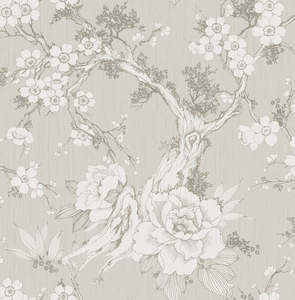 SD70001HN Apara blossom trail floral chinoiserie wallpaper from Say Decor
