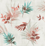 Cayacoa Tropical Leaves Botanical Wallpaper