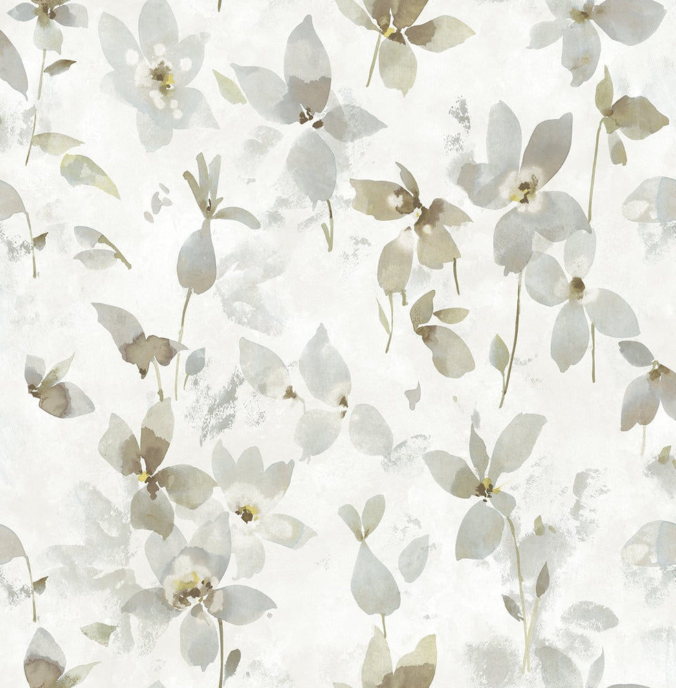 SD70601HN Cissel watercolor petal floral wallpaper from Say Decor