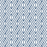 NextWall Navy Diamond Geometric Peel and Stick Removable Wallpaper