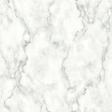 NW30400 peel and stick white marble removable wallpaper by NextWall