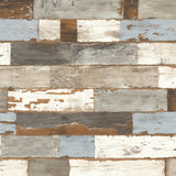 NW30700 peel and stick coastal shiplap removable wallpaper by NextWall