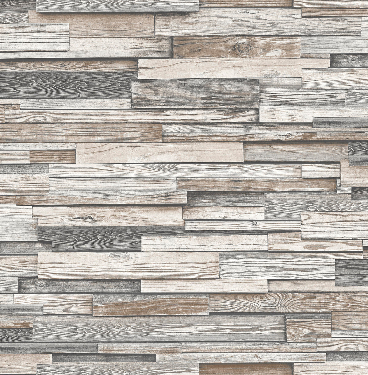 Nextwall Gray Reclaimed Wood Plank Peel And Stick Removable Wallpaper Say Decor Llc