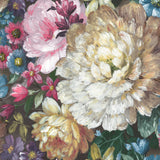 NW32700 blooming floral painterly peel and stick wallpaper by NextWall