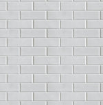 NW34000 off white subway tile peel and stick removable wallpaper by NextWall
