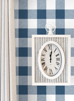 NW34502 picnic plaid peel and stick removable wallpaper decor by NextWall