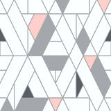 NW34701 kaleidoscope geometric peel and stick removable wallpaper by NextWall