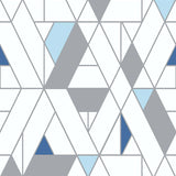 NW34702 kaleidoscope geometric peel and stick removable wallpaper by NextWall