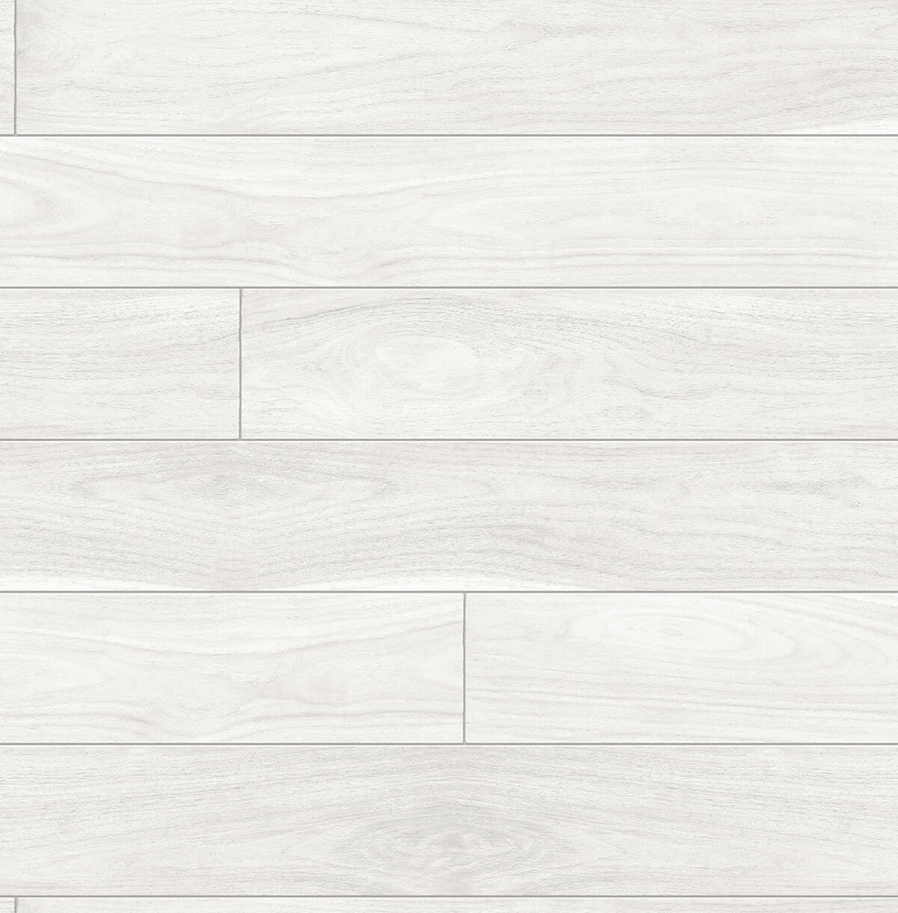 NextWall Teak Planks Peel and Stick Removable Wallpaper