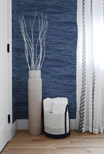 NW35902 serene sea coastal peel and stick removable wallpaper bedroom  by NextWall