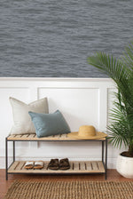 NW35908 serene sea coastal peel and stick removable wallpaper entryway by NextWall