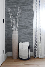 NW35908 serene sea coastal peel and stick removable wallpaper bedroom by NextWall