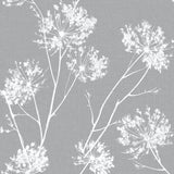 NW36008 one o'clock botanical peel and stick removable wallpaper from NextWall