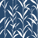 NW36402 bamboo leaf botanical peel and stick removable wallpaper by NextWall