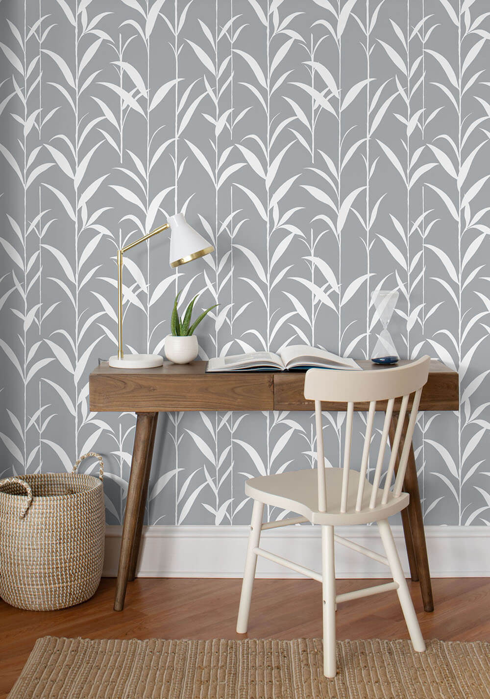 Nextwall Bamboo Leaf Peel And Stick Removable Wallpaper Say Decor Llc