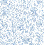 NextWall Paisley Trail Bohemian Peel and Stick Removable Wallpaper