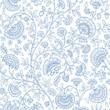 NW36802 paisley trail bohemian peel and stick removable wallpaper from NextWall