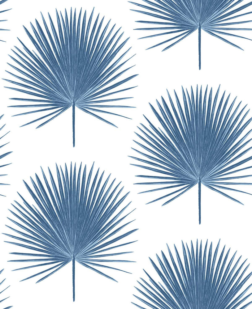 NW37502 palmetto palm tropical peel and stick removable wallpaper from NextWall