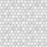 NW38710 marble hexagon faux peel and stick wallpaper from NextWall