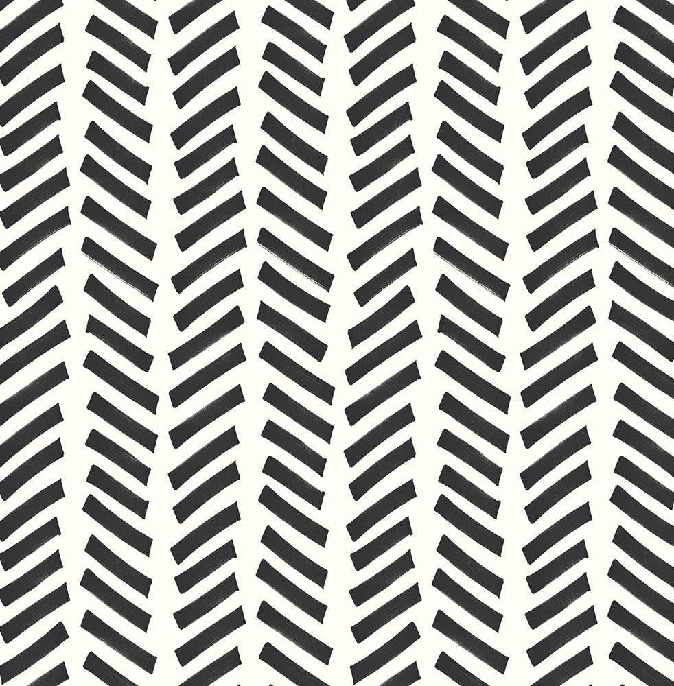 NextWall Mod Chevron Peel and Stick Removable Wallpaper