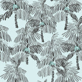 NW40012 Palm Beach botanical peel and stick removable wallpaper from NextWall