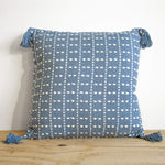 Polly Hand Woven Cotton Throw Pillow