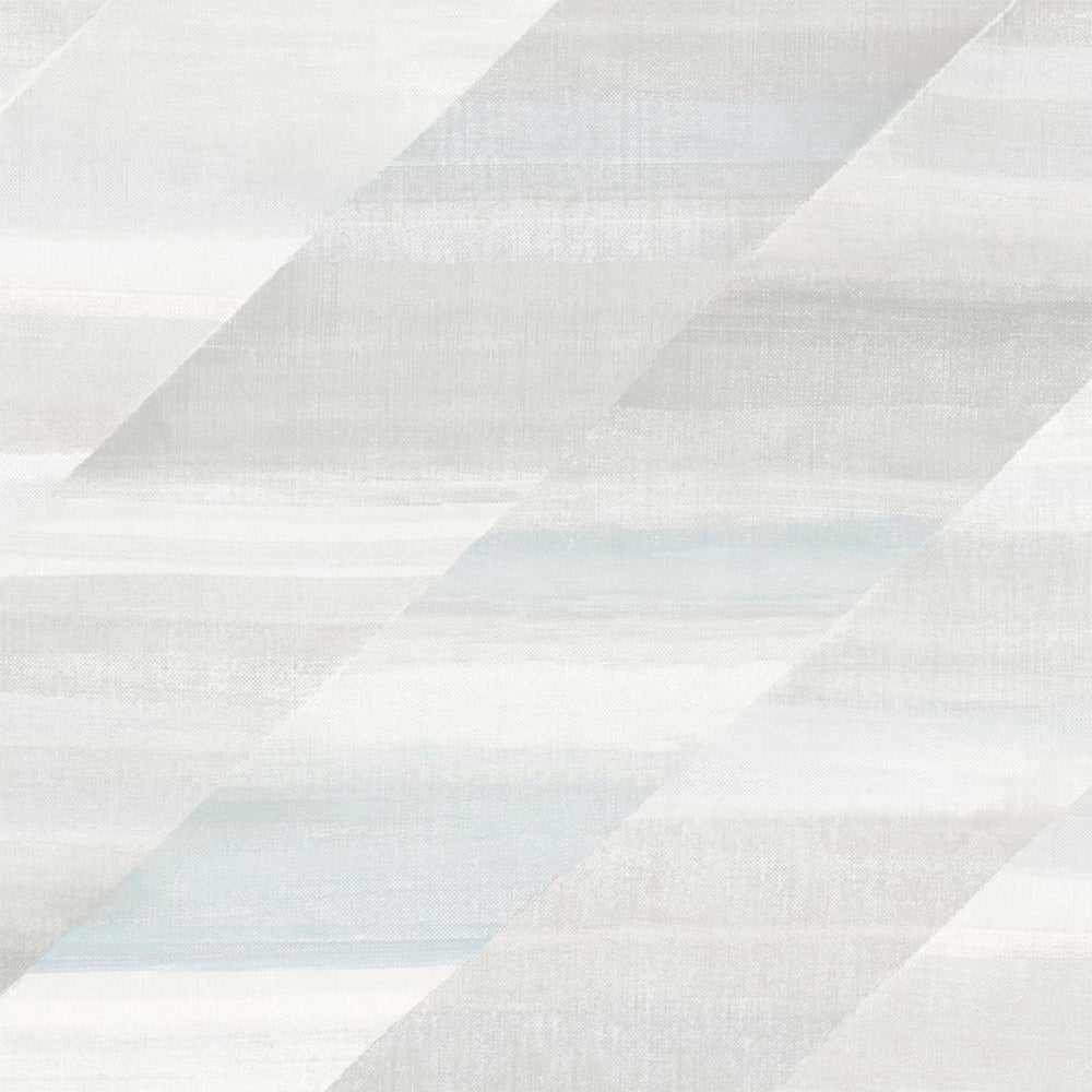 RY30300 white rainbow diagonals striped wallpaper from the Boho Rhapsody collection by Seabrook Designs