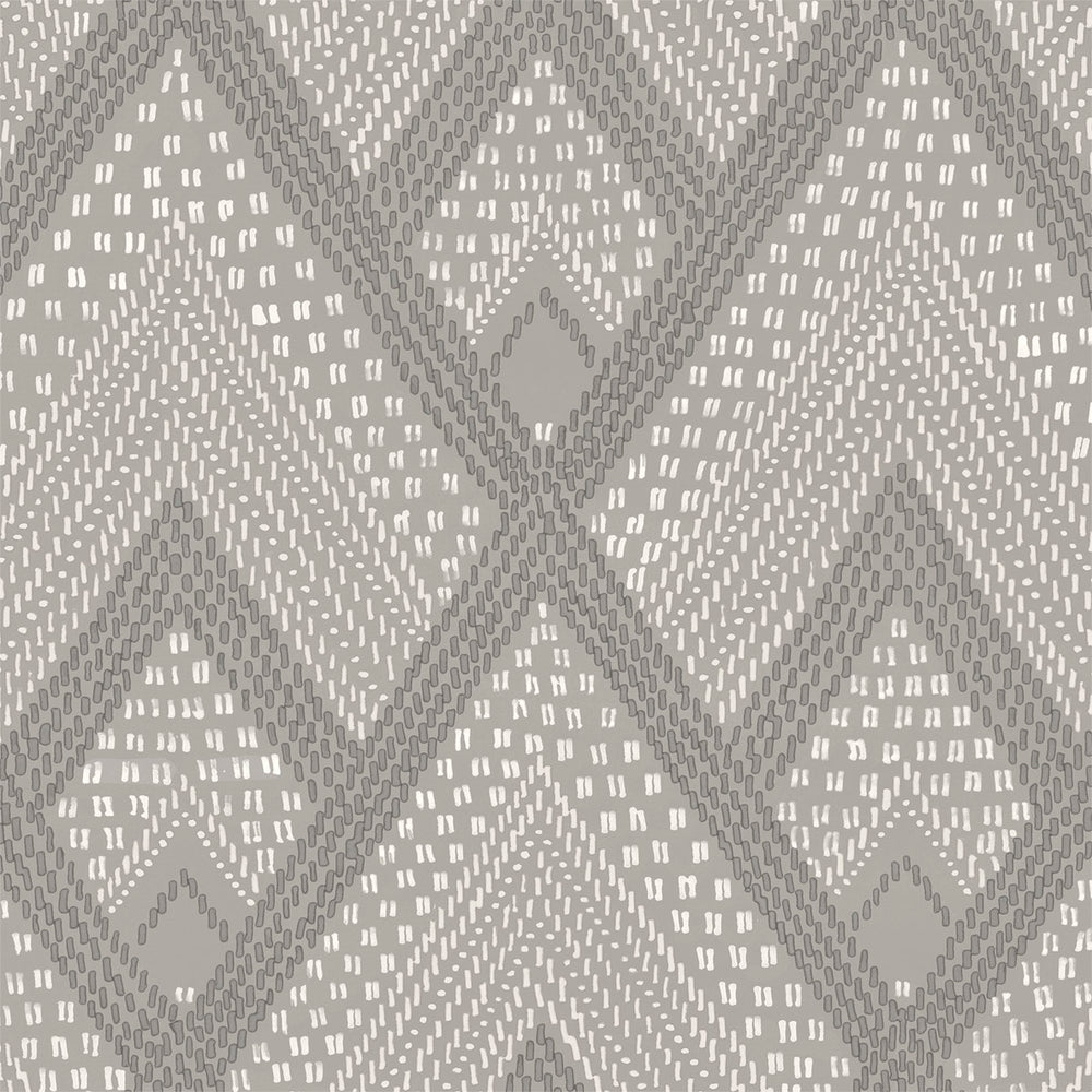 RY30508 gray boho diamonds wallpaper from the Boho Rhapsody collection by Seabrook Designs