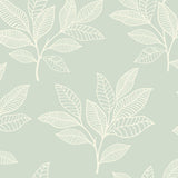 RY30804 green paradise leaves botanical wallpaper from the Boho Rhapsody collection by Seabrook Designs