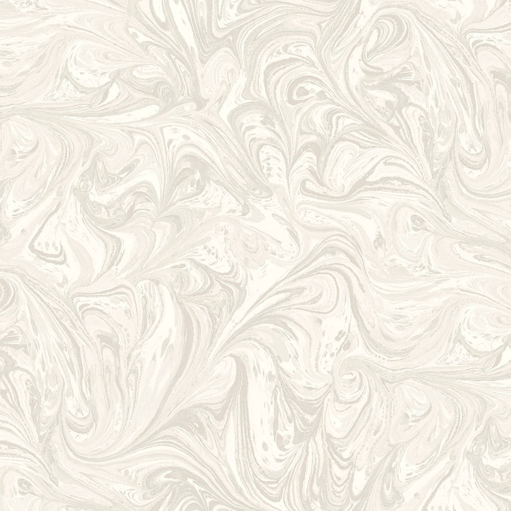 RY31108 silver sierra bohemian marble wallpaper from the Boho Rhapsody collection by Seabrook Designs