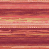 RY31301 red horizon brushed stripe wallpaper from the Boho Rhapsody collection by Seabrook Designs