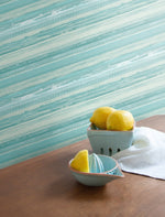 RY31304 horizon brushed stripe wallpaper from the Boho Rhapsody collection by Seabrook Designs