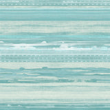 RY31304 teal horizon brushed stripe wallpaper from the Boho Rhapsody collection by Seabrook Designs