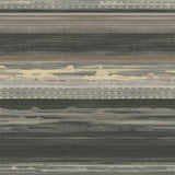 RY31320 black horizon brushed stripe wallpaper from the Boho Rhapsody collection by Seabrook Designs
