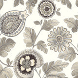 RY31900F paisley leaf botanical fabric from the Boho Rhapsody collection by Seabrook Designs