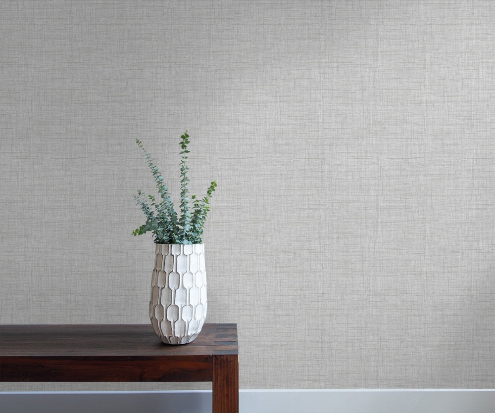 RY32101 bermuda linen stringcloth textile wallpaper from the Boho Rhapsody collection by Seabrook Designs