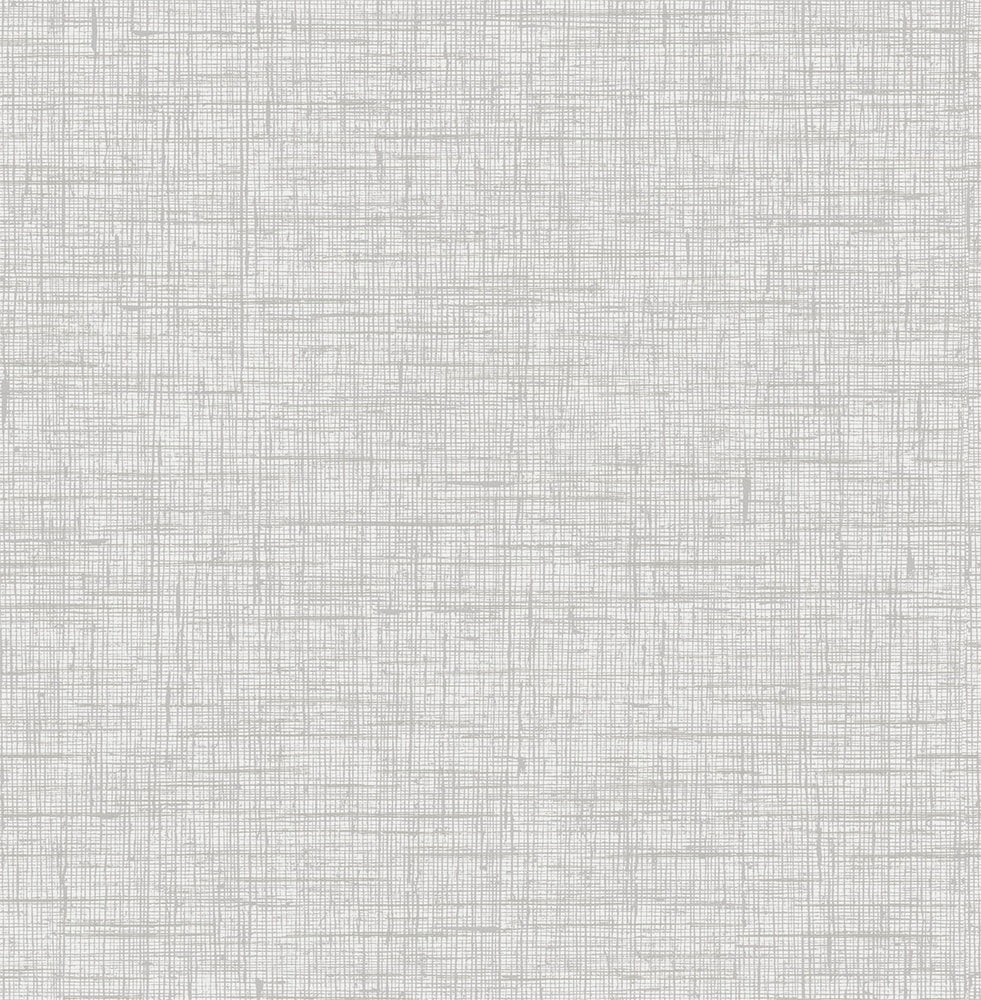 RY32101 gray bermuda linen stringcloth textile wallpaper from the Boho Rhapsody collection by Seabrook Designs