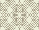 TA21306 Cayman lattice geometric wallpaper from the Tortuga collection by Seabrook Designs