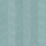 TC70104 teal chevy hemp embossed vinyl wallpaper from the More Textures collection by Seabrook Designs
