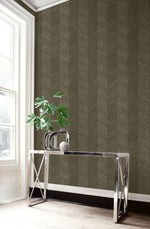 TC70106 table brown chevy hemp embossed vinyl wallpaper from the More Textures collection by Seabrook Designs